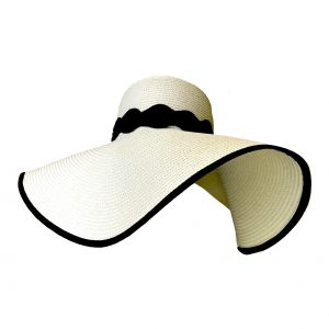 <strong>MONICA</strong><br>Sunhat With Black Band.