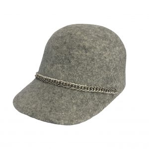 <strong>GRACE</strong><br>Wool felt Cap With Chain